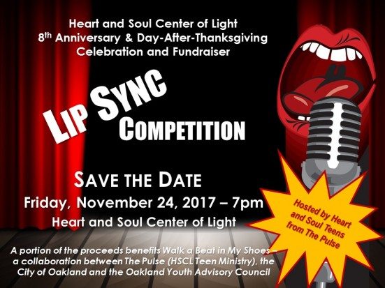 flyer - lip sync contest ~ SAVE THE DATE